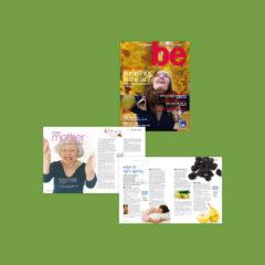 AXA/PPP Healthcare 'be' Magazine
